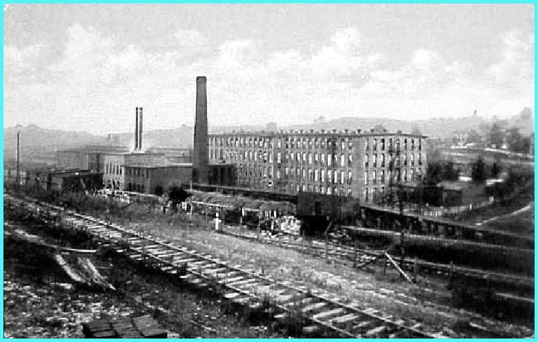 Old view of Carroll Ave. - Leased plant