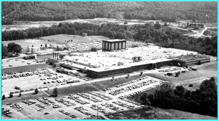1980 arial view of GE's Mt. View Rd. plant as built out