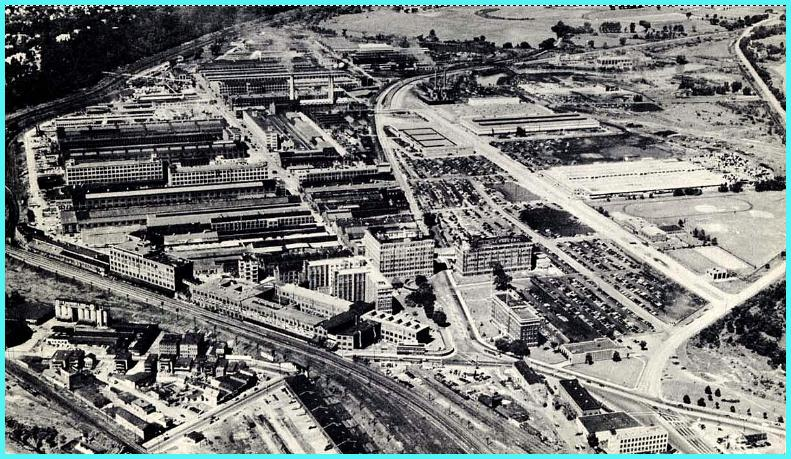 Arial view of GE's Schenectady Works